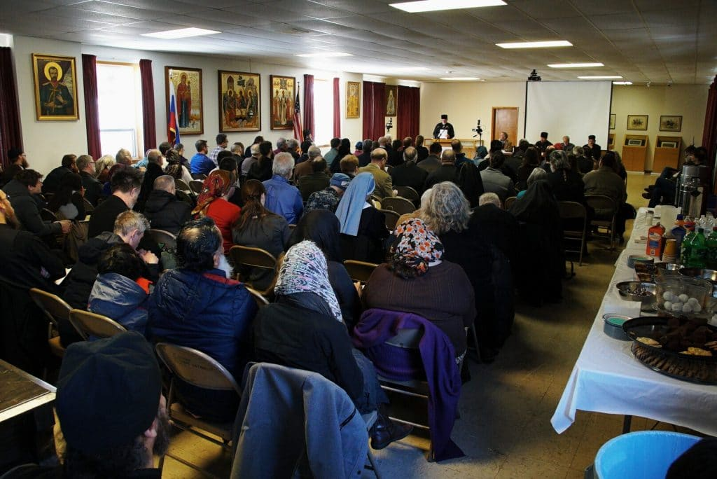 "Conference on ""Chastity, Purity, Integrity"" held in Jordanville (United States)"