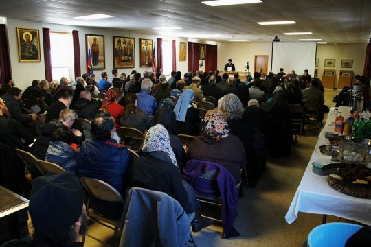 """Conference on """"Chastity, Purity, Integrity"""" held in Jordanville (United States)"""