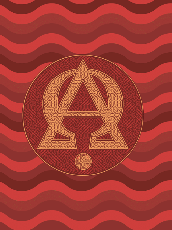 Sac fourre-tout : Alpha et Omega, version rouge
