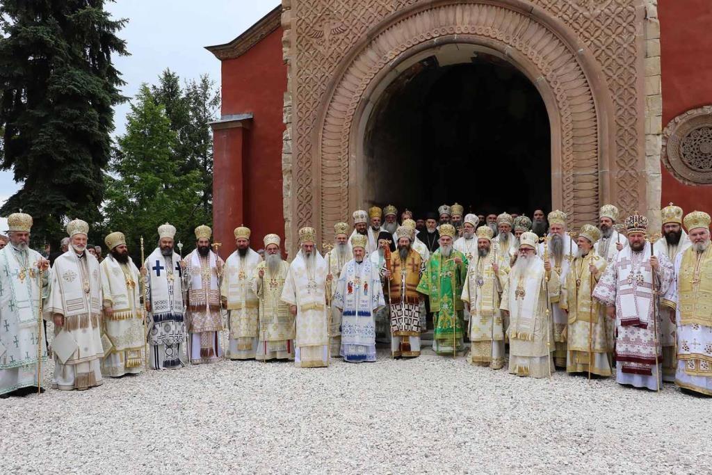 Ouverture de l'Assemblée des évêques de l'Église orthodoxe serbe