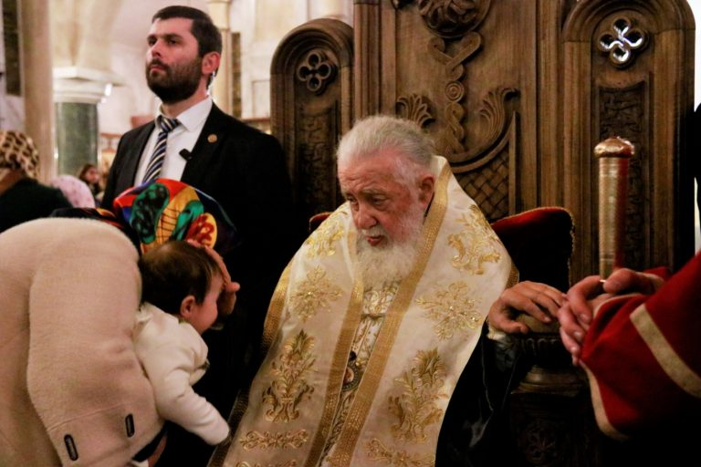 58th mass baptism of children in Tbilisi