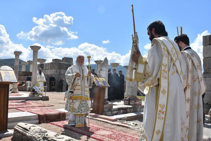 Patriarch Bartholomew celebrated the Divine Liturgy in Ephesus