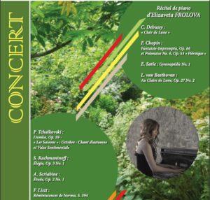 Concert du dimanche 19 mai au profit de la «Colline Saint-Serge»