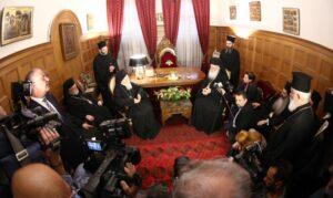 Visite du patriarche œcuménique Bartholomée à Athènes