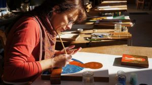 «Travailler l'icône, c'est cultiver son moine intérieur», un entretien avec Marie-Noëlle Garrigou