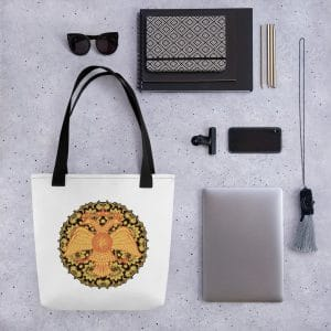 Privé: Byzantine Double-headed eagle Russian style Tote bag