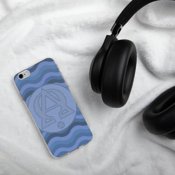 Privé: Alpha and Omega Blue Version iPhone Case