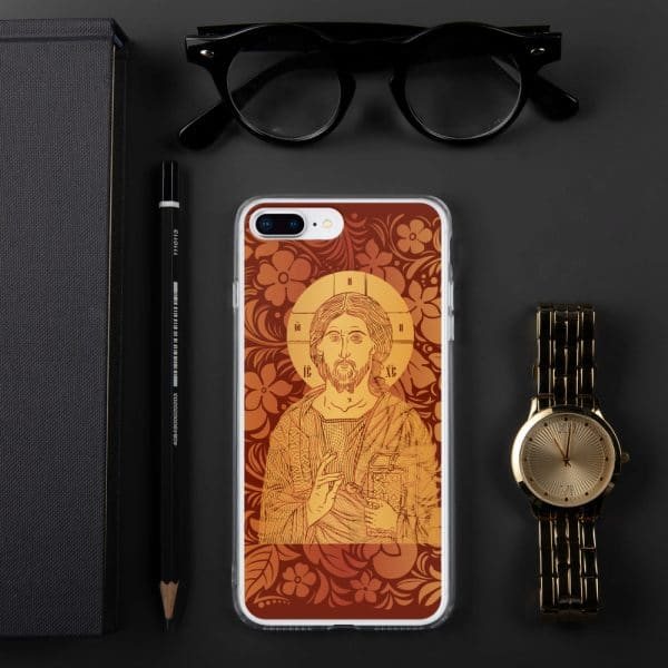 Privé : Christ the Savior & Life-Giver iPhone Case Red Version