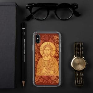 Privé: Christ the Savior & Life-Giver iPhone Case Red Version