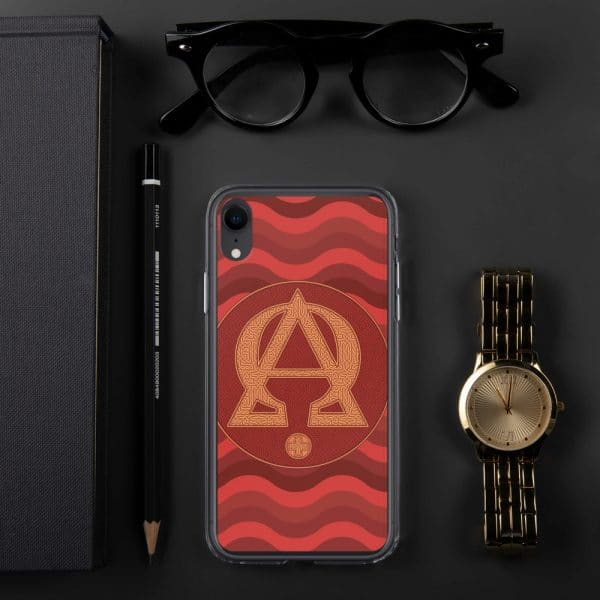 Privé : Alpha and Omega Red Version iPhone Case