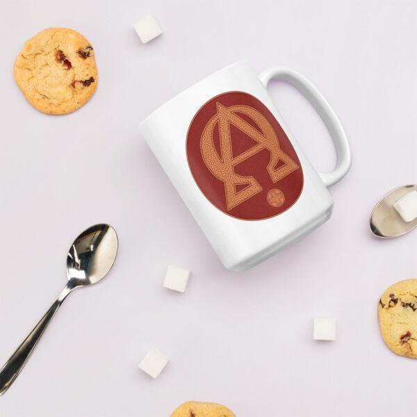 Privé: Alpha and Omega Red Version Mug