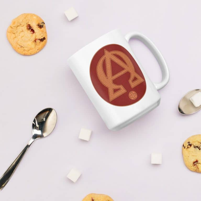 Privé : Alpha and Omega Red Version Mug