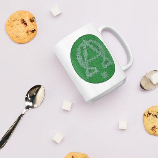 Privé: Alpha and Omega Green Version Mug
