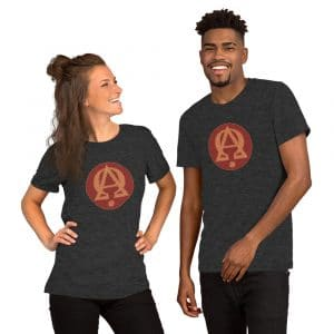 Privé : Alpha and Omega Red Version Short-Sleeve Unisex T-Shirt