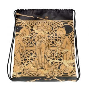 Privé : The Transfiguration of Christ Drawstring bag