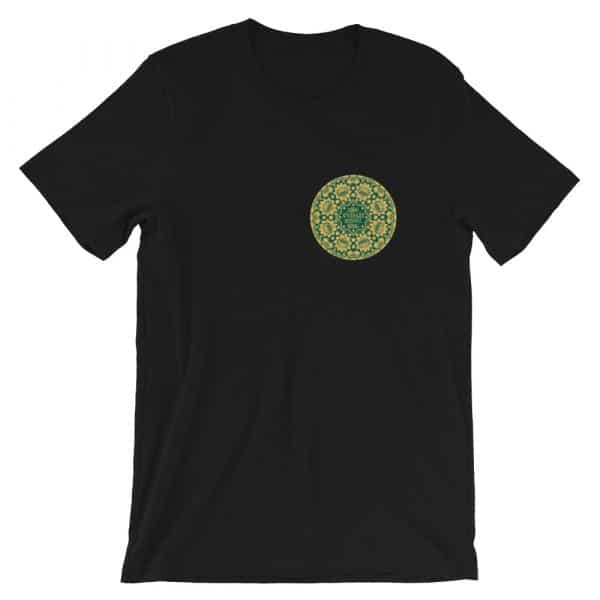 Privé : Jesus Prayer Green Version Old Church Slavonic Short-Sleeve Unisex T-Shirt