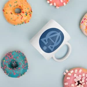 Privé : Alpha and Omega Blue Version Mug