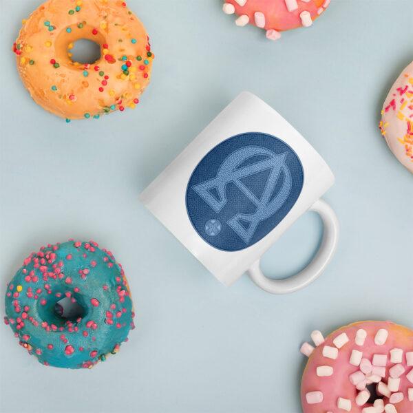Privé: Alpha and Omega Blue Version Mug