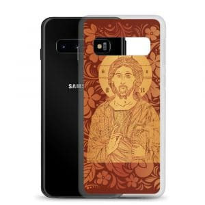 Privé : Christ the Savior & Life-Giver Samsung Case Red Version