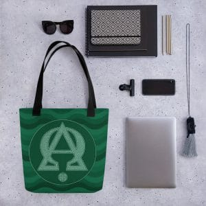 Privé : Alpha and Omega Green Version Tote bag