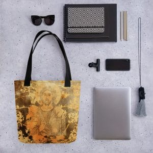Privé : Christ the Saviour & Life-Giver Tote bag