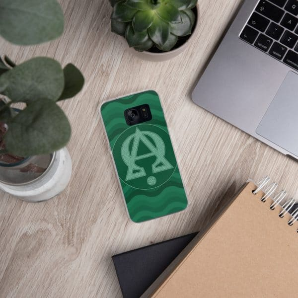 Privé : Alpha and Omega Green Version Samsung Case