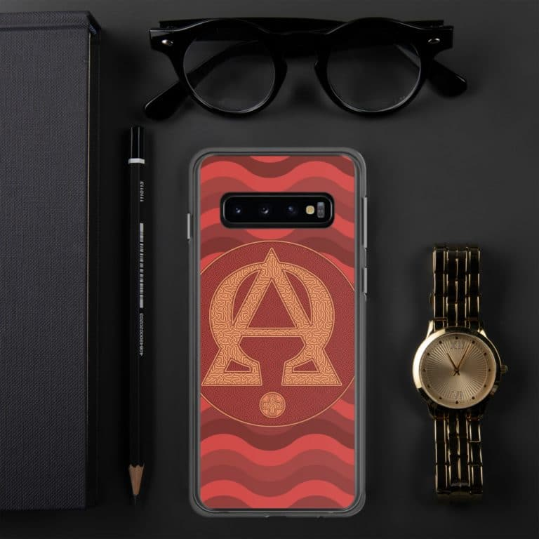 Privé : Alpha and Omega Red Version Samsung Case
