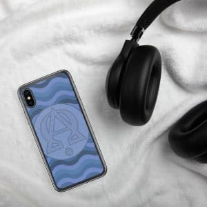 Privé : Alpha and Omega Blue Version iPhone Case