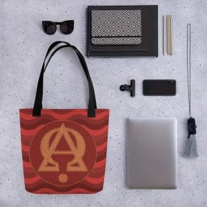 Privé : Alpha and Omega Red Version Tote bag