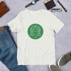 Privé : Alpha and Omega Green Version Short-Sleeve Unisex T-Shirt