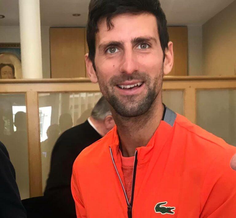 «En visite à Paris, Novak Djokovic s'est rendu l'église orthodoxe serbe»