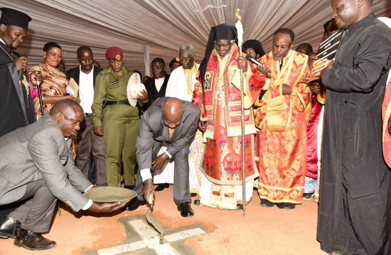 Le président ougandais a posé la première pierre d'une cathédrale orthodoxe à Kampala