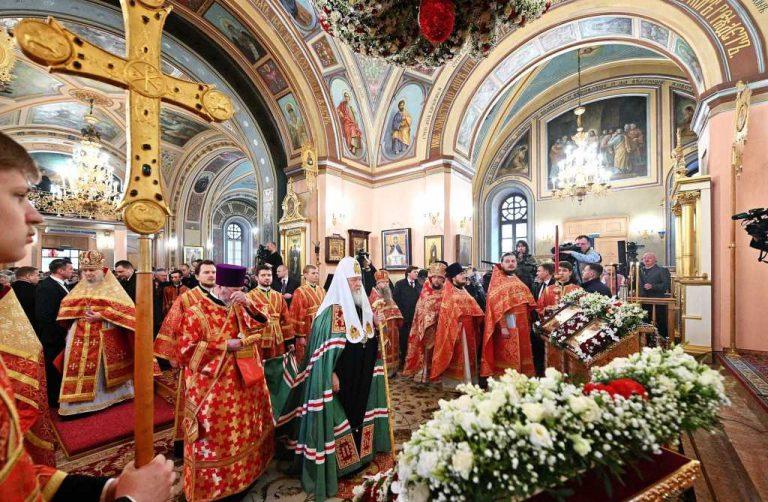 Vingtième anniversaire de la canonisation de la bienheureuse Matrone de Moscou
