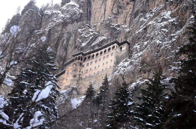 Le célèbre monastère de Soumela, dans la province turque de Trabzon, est à nouveau ouvert au public