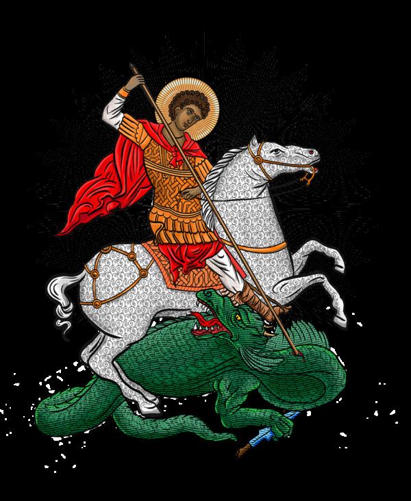Sac fourre-tout : Saint Georges le Tropéophore