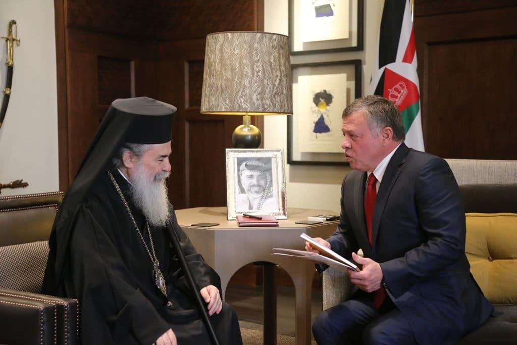 The King of Jordan covers the cost of restoration of the Holy Sepulchre