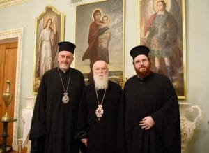 "Metropolitan Emmanuel of France Emmanuel (Ecumenical Patriarchate) visited ""Patriarch"" Filaret of Kyiv"