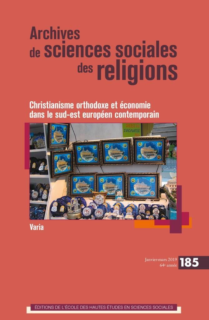 «Christianisme orthodoxe et économie dans le sud-est européen contemporain»