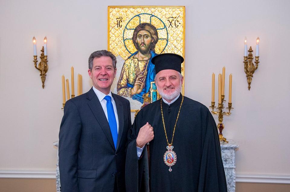 L'archevêque d'Amérique Elpidophore (Patriarcat œcuménique) : « Nous sommes heureux que les États-Unis soutiennent le patriarche et le Patriarcat œcuménique »