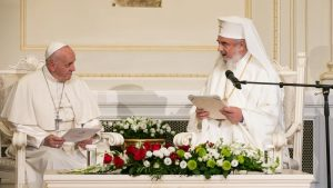 Pope Francis visited the Patriarchate of Romania