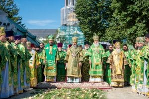 Fête onomastique du métropolite de Kiev Onuphre