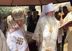 Metropolitan Tikhon (OCA), guest of Patriarch Bartholomew in Cappadocia