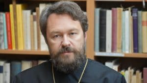 "Metropolitan Hilarion of Volokolamsk does not consider Moscow to be ""the Third Rome"""