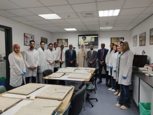 The Patriarchate of Alexandria and the Library of Alexandria to restore 100 unique manuscripts