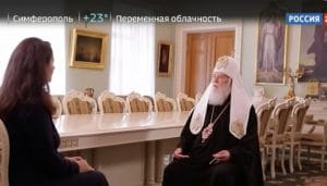 """Patriarch"" Filaret gave an interview to the Russian TV channel Rossia 24"