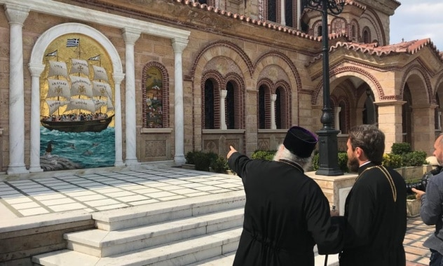 Mgr Hilarion a célébré un office de requiem au cimetière militaire allié de Thessalonique (Zeïtenlik)