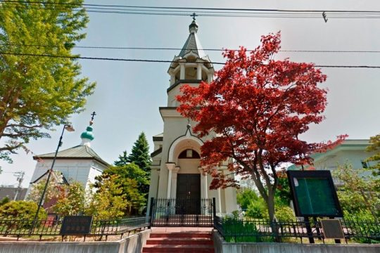 Pictures of Orthodox churches in Japan