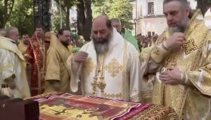 Participation of a bishop of the Church of Greece in a Divine Liturgy of the autocephalous Orthodox Church of Ukraine