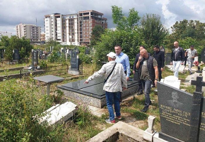 Pour la septième fois, le cimetière orthodoxe serbe de Lipljan (Kosovo) a été profané
