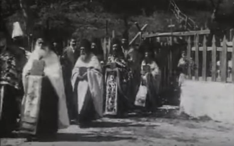 Un film d'archives sur le Mont Athos des années 1917 et 1918 est disponible sur internet